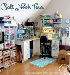 The Scrap Shoppe: Craft Nook Tour