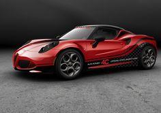 Alfa Romeo 4C has been chosen to be the 2014 FIA WTCC safety car!