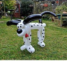 Balloon art Dalmatian. #Balloon sculpture dog #balloon-sculpture-dog #balloon art Dalmatian #balloon-art-Dalmatian #balloon twist dog #balloon-twist-dog #balloon art dog #balloon-art-dog
