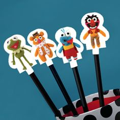 Muppets Pook-a-Looz Pencil Toppers
