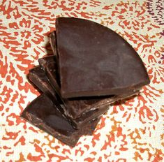 Chocolate peppermint candy, paleo