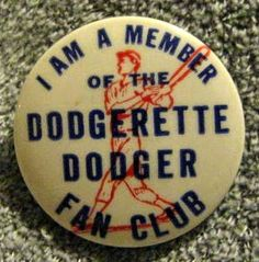 Dodgers Blue Heaven: An Incredible 1950's Era Dodgerettes Fan Club Sweater at Grey Flannel Auctions