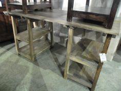 """Cool Desk!  PC1070 - $350  58""""W x 27.5""""D 29""""H  #NadeauNashville"""