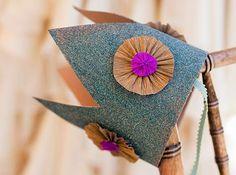 DIY Flower Girl Crown // via hello lucky