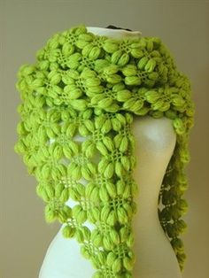 This free crochet pattern has fabulous texture! free pattern scarf, shawl - Media - Crochet Me