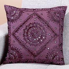 purpl lavend, spiritu purpl, posit purpl, pillow talk, 10 decor, purpl mirror, insid decor, toss pillow, purpl passion