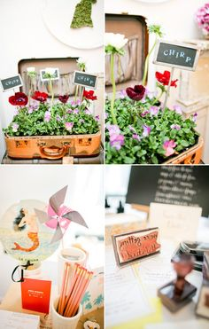 Certain parts of this I like & certain parts not so much... Fun event planning ideas