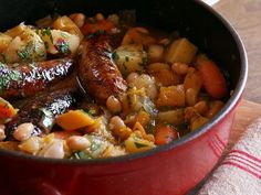 Pumpkin, White Bean and Sausage Stew, make it the day before for best flavor! cook, one pot meals, pumpkin, sausag stew, dinner recip, food, white bean, dinner meal, crockpot recipes