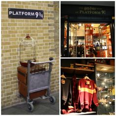 Harry Potter Platform 9 3/4 Shop in London, England