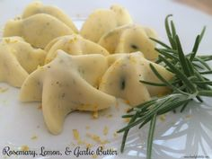 Rosemary, Garlic, & Lemon Infused Butter Perfect for the holidays or ...