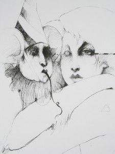 "Ramon Santiago ""Zenith"" Estate Stamped Fine Art Print"