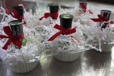 "Nailpolish favors...how cute is that! Guests grab a little nailpolish ""cupcake""!"