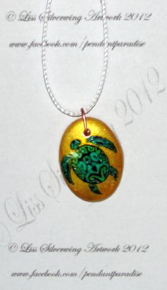 $10 Starting Bid: Turtle Pendant Necklace http://www.outbid.com/auctions/1734#10
