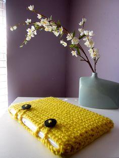 crochet laptop case