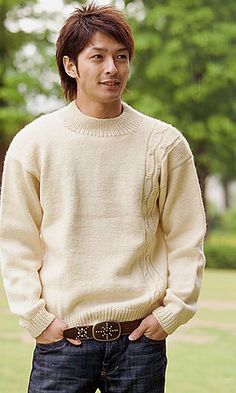 Free Pattern: Cabled Pullover
