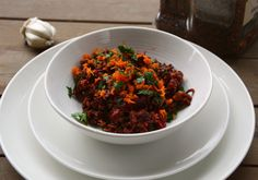 Wild Rice Roasted Beet Salad http://thefoodblog.net/wild-rice-roasted-beet-salad/