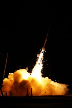 A rocket launch from Wallops Island, nearby where I spent summers as a kid dreaming of being on a rocket someday...