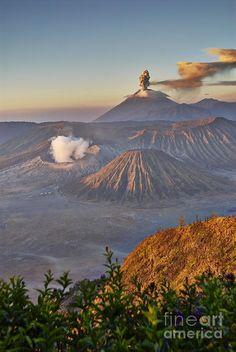 ✯ Eruption at Gunung Bromo - Indonesia