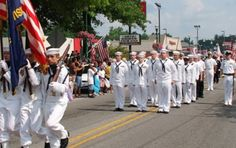 The oldest running Memorial Day parade began in Alton in 1868!