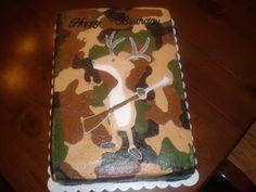 Camo Cake for Logan's birthday.