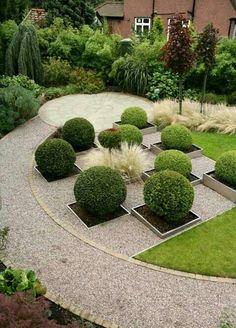 design homes, landscaping ideas, garden design, outdoor, front yards, garden idea, landscape designs, landscap design, contemporary design