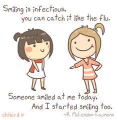 Smiling infecti, smile quot, stuff, inspir quot, quoteswisdom quotesinspir, thought, happiness quotes, posit, children book