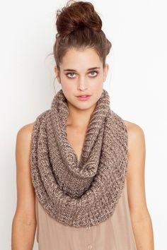 infinity scarf. You make for me @hayleydukes?