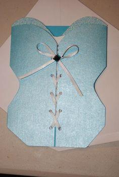 Lingerie Bridal Shower Invitations :