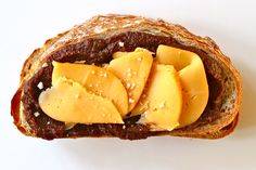 Perfect Pairs: 2-Ingredient Sandwiches - Apple butter and smoked Gouda