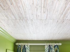 Add Texture With Grasscloth - DIY Wallpaper Projects to Dress Up Your Home on HGTV