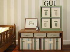 Green baby room