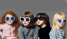 themanrepeller:  Should we be alarmed that Karen Walker sunglasses look hipper on these adorable kids than on us? http://bit.ly/17gSg2i