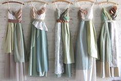 Custom Long Maxi Bridesmaids Dresses by ArmoursansAnguish on Etsy, $180.00