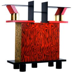Freemont Cabinet/Console by Ettore Sottsass for Memphis
