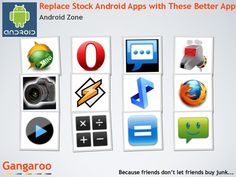 Upgrade your stock Android apps with these better independent apps.