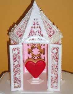 How To Make a Royal Icing Gazebo