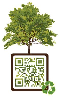Earth Day QR code