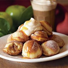Spiced-Apple Filled Pancakes