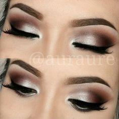Aurelia Justina @auraure Instagram photos | Webstagram. DIY makeup inspiration. Ideas for brown eyeshadow color palette.