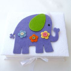 Lilac Elephant Keepsake Box