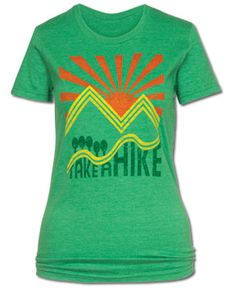 SoulFlower-Take a Hike Women's Recycled T-Shirt-$26.00