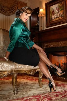 Glamour European Heel Full Fashioned Stocking $32.99