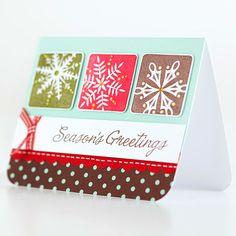 Season's Greetings Christmas Card