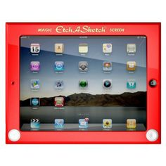 Etch A Sketch Hard Case for iPad