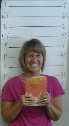 Mugshot! You're up next! #bannedbooks #bannedbooksweek