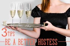 "3 Tips for becoming the ""Hostess with the Mostess."" Simple tips to avoid party-stress!"