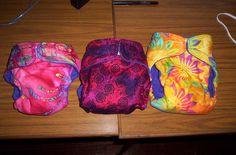 Three free nappy patterns: A comparison