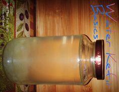 The basics of making water kefir.