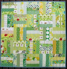 Great green quilt #green