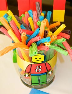 birthday parties, theme parties, lego parti, lego birthday party ideas, lego birthday party food